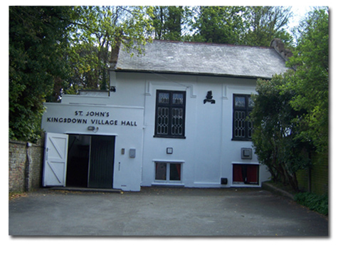 A photo of the village hall